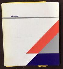 Tektronix 1720/1721 Vectorscope (sn B040000 And Up) Manual