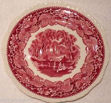 "❤Mason's Patent Ironstone China Red Pattern Vista England 10½"" Dinner Plate EUC❤"