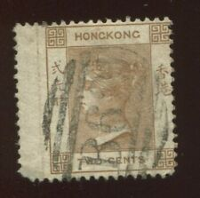 Hong Kong China 1865 Queen Victoria No.8  2c, used