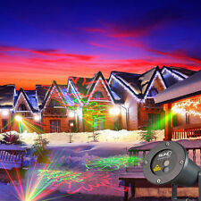 SUNY Automatic G&R 8patterns yard garden X'mas laser stage lighting With Remote