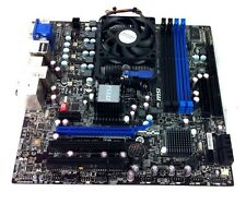 MSI 760GM-E51 Motherboard w/ AMD Athlon II X2 270 Processor 3.4GHz Heat Sink Fan