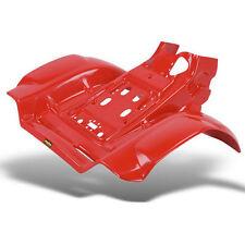HONDA TRX250R TRX 250R REAR FENDERS MAIER RED 86-89