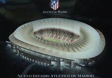 Stadionpostkarte Estadio Vicente Calderon Atletico de Madrid A5