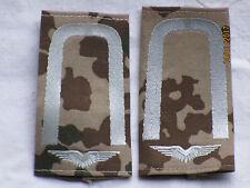 BW DISTINTIVI RANGO: sottufficiale, Luftwaffe, Bianco/MIMETICO TROPICALE
