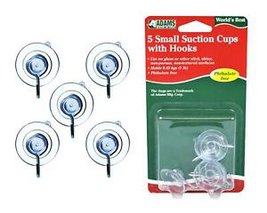 5 Suction Cups Hooks Small Christmas Decorations Ornaments Holders Hangers
