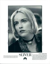 1993 Pretty Blond Actress Sharon Stone in Sliver Press Photo