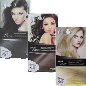 EPIELLE HAIR COLOR PERMANENT CREAM HAIR DYE 1 PACK
