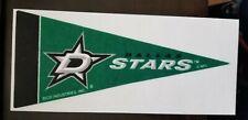 DALLAS STARS LICENSED NHL MINI PENNANTS 4 X 9