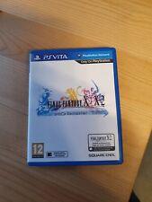 Final Fantasy X X-2 HD Remaster For Playstation PS Vita