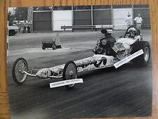 Bill Goudreau Vintage 8x10 Nhra Top Fuel Photo