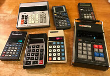 Calculator Collection. Texas Instruments Commodore Privilege Apf Unisonic