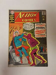 Action Comics 340, (DC, Aug 1966), VG+, 1st appearance of the Parasite