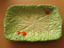 Vintage Beswick Ware Cabbage Leaf and Tomato Salad Serving Bowl Dish