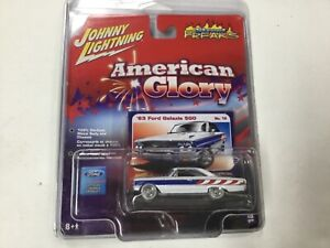 White Lightning Street Freaks American Glory 1963 Ford Galaxie 500 No. 18