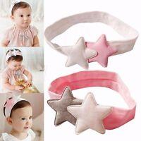 Toddler Kids Star Hair Band Headband Multi Style Baby Headwear