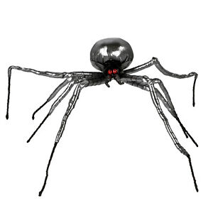 Creepy Crawler Black Widow Halloween Party Haunted House Decor Giant Yard Spider