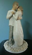 "Willow Tree Promise Figurine #26121 2007 Demdaco 9"" Tall Susan Lordi Love Euc"