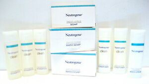 Neutrogena CLEAN NORMALIZING Shampoo Conditioner Body Lotion Bar Soap Lot Travel