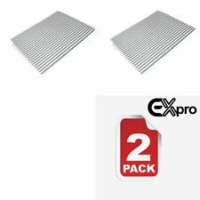 2 x Replacement ZANUSSI Cooker Hood Grease Filters with Saturation Indicator