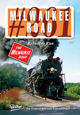 Milwaukee Road 261 Rebuilt to Run DVD NEW PENTREX Fond du Lac 4-8-4 Steam Loco