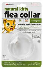 Petkin NATURAL Kitty Lemongrass FLEA & TICK COLLAR For Cats Fits up to 13""
