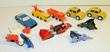 1980's Transformers Bandai Tomy Lot Planes Cars Trucks