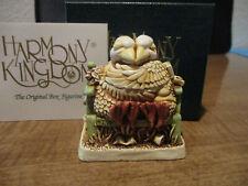 Harmony Kingdom Beak To Beak Lovebirds Green Bench Uk Made Box Figurine