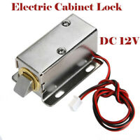 12V Electronic Solenoid Door Bolt Lock RFID for Cabinet Drawer Access Control