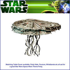Star Wars Pinata Millennium Falcon 3D Shape birthday party supplies pinyata game