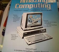 Amazing Computing Magazine #3 April 1986 Commodore Amiga Information Programs