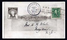 "U.S.1906 Hackensack, Nj "" R.f.d. Bolton Landing Bis"