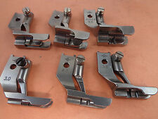 6 PAIRS DOUBLE TOE PIPING WELTING WALKING FOOT #42519X20T PFAFF 1240,146,195,145