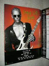 Steve Vai- 1995 Us Full-Page Color Ad 'Juice' Single (Album Network Magazine)