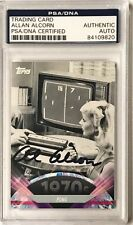 2011 Topps American Pie Allan Alcorn PONG Signed Auto Card #111 PSA/DNA Slabbed