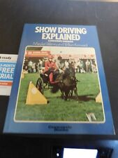 Show Driving Explained by Marilyn Watney & William Kenward PB