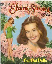 VINTGE 1955 ELAINE STEWART PAPER DOLL LASR REPRODUCTIN~UNCT LO PR NO1 SELLR EBAY