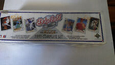 UPPER DECK 1991 BASEBALL EDITION COMPLETE CARD SET ~ NEW IN FACTORY SEALED BOX