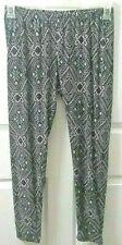 Womans Clothing Joe Boxer Leggings Size XL Black And White Multicolor