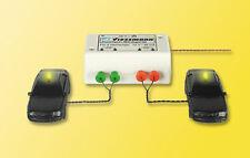 Viessmann 5028 Spur H0 Zweifach-Blinkgerät mit 2 gelben Glühlampen #NEU OVP#