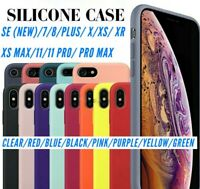 IPHONE SILICONE CASE WITH PREMIUM TEMPERED GLASS
