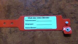 Armband wie im Club der roten Bänder