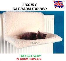 CAT DOG PUPPY PET RADIATOR BED WARM FLEECE BEDS BASKET CRADLE HAMMOCK ANIMAL NEW