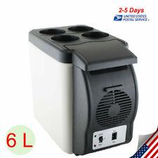 New listing Portable Electric 6L Mini Car Truck Fridge Cooler Warmer 12V Travel Refrigerator
