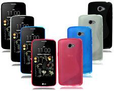 Fundas y carcasas color principal morado de silicona/goma para teléfonos móviles y PDAs LG