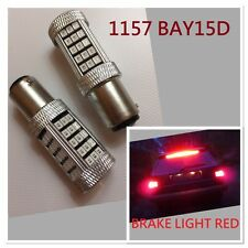1157 63SMD 3528 3496 RED LED Bulb Car Truck Brake signal Lights Lamp Chevrolet