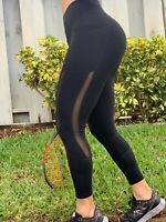 Women's High Waist Yoga Pants Pocket Fitness Sports Capri Leggings Plus Size OB