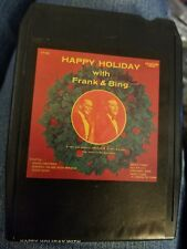 Happy Holiday with Frank & Bing Holiday 8T-HDY-596 8 Track Tape 1980 Phoenix