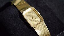 RARE OMEGA Deville Octagon 18K Gold Vintage Watch 1970s
