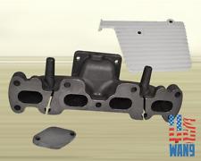 1994-2005 Mazda Miata MX5 1.8L T2 Cast Turbo Manifold w/ Heat Shield+WG Block