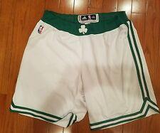 Boston Celtics ADIDAS White NBA Authentic Player Worn Shorts 4XL+2 (J.Sullinger)